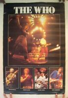 The Who Poster Concert Collage