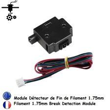 Détecteur de Fin Filament 1.75 Break Module Run Out Sensor Imprimante 3D Printer