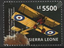 WWI RFC/RAF SOPWITH CAMEL Biplane Fighter Aircraft (Shoots Down Red Baron) Stamp