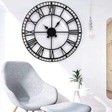Large Roman Wall Clock Antique Vintage Metal Skeleton Numeral 40/60/78/88CM