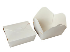 More details for takeaway food box deli noodles pasta rice salad container grease/leak proof