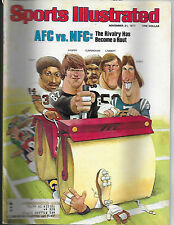 SPORTS ILLUSTRATED - FEATURES AFC/NFC RIVALRY ON THE COVER - NOVEMBER 21, 1977