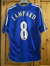 """Adidas Chelsea football shirt jersey soccer for boys size 32/34"""" #8 Lampard"""