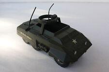 SOLIDO  COMBAT-CAR M 20   1961/80  ref 200  bon état  manque mitrailleuse N°2