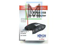 USA-49WG TRIPPLITE TRIPP LITE 4-PORT SERIAL RS-232 DB9 MALE TO USB HUB - NEW