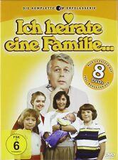Gesamtbox Ich Heirate una Familia Completo Serie de Tv Peter Weck 8 Caja de DVD