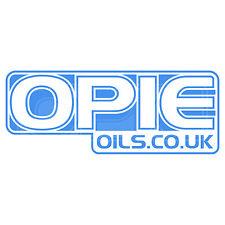Opie aceites Decal Set - 2 Pegatinas de 6 Pulgadas X azul