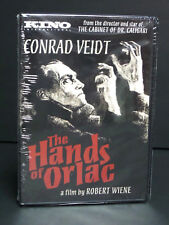 The Hands of Orlac (DVD, 1924) Conrad Veidt, Horror KINO Brand New & Sealed Rare