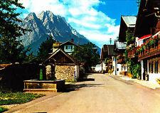 Garmisch-Partenkirchen , Frühlingstraße , ungel. Ansichtskarte