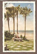 VINTAGE POSTCARD UNPOSTED FLORIDA LAND OF ENCHANTING BEAUTY