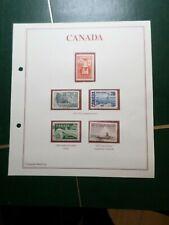 CANADA, LOT timbres oblitérés et/ou neufs, VF STAMPS