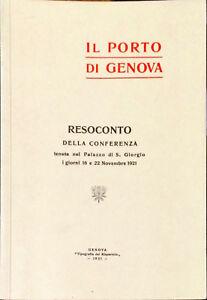 IL PORTO DI GENOVA - ED. RISPARMIO 1921