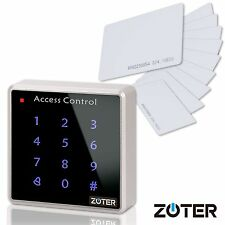 Backlit Key Door Home Access Control 125KHz Reader Keypad with 10 pcs RFID Cards