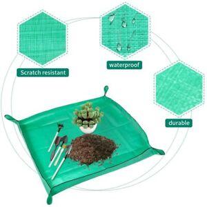Garden Plant Transplanting Mat Waterproof Garden Plant Repotting Soil Change Pad