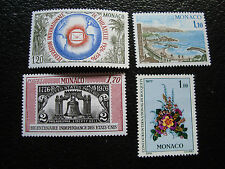 MÓNACO - sello yvert y tellier nº 1054 1055 1077 1083 N (A19) stamp