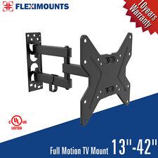 FULL MOTION TILT &SWIVEL LED LCD TV WALL MOUNT BRACKET 17 26 27 32 36 37 40 42IN