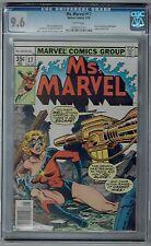 Ms. Marvel #17 CGC 9.6 NM+ Wp 2nd Mystique App as Nick Fury Marvel Comics 1978
