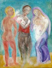 "Australian Oil painting on canvas ""The Three Graces"" by Yuri Stepanuk. 90x70 cm."