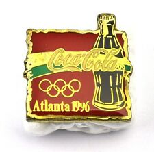 COCA-COLA COKE EE.UU. Solapa Pin PIN BADGE Broche - Botella ATLANTA '96