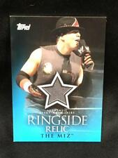 2009 Topps WWE The Miz Ringside Relic Card WORN Shirt Patch Variant Wrestling