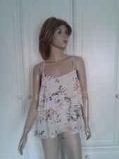 ATMOSPHERE FLORAL FLOATY TIERED TOP SIZE 14
