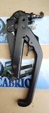 79 93 VW CABRIOLET RABBIT CONVERTIBLE OEM MK1 TOP LATCH ASSEMBLY W SAFE