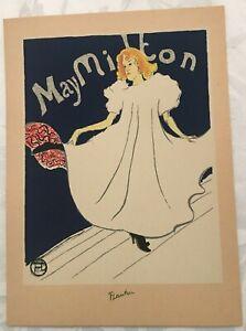 Henri de Toulouse-Lautrec Silkscreen Mary Milton