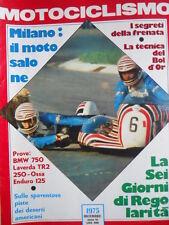 Motociclismo n°12 1975 - Test BMW 750 Laverda TR2 250 - Ossa Enduro 125  [P5]