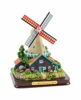 Molino de Viento Poly Base Modelo 12cm Holland Países Bajos Recuerdo