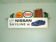 Nissan Skyline GTR Banner workshop Garage sign