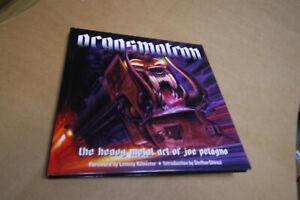 SUPER RARE Joe Petagno - Orgasmatron The Heavy Metal Art TOP Motorhead Artbook