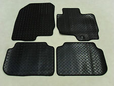 Mitsubishi Colt 2009-13 Fully Tailored Deluxe RUBBER Car Mats in Black