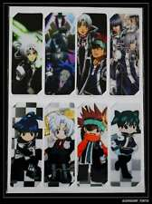 D.Gray-Man 8 Marque Pages/Bookmarks (A) ヂィーグレイマン
