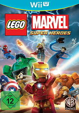 Nintendo wii u LEGO MARVEL super heroes jeu vidéo Action Adventure multilingue