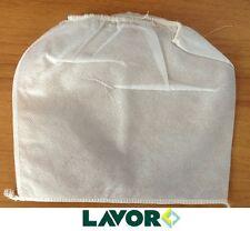 """5x filtri di STOFFA sacchetto per motore bidone aspiratutto """"ashley plus"""" LAVOR"""