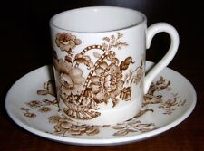 "ROYAL CROWNFORD STAFFORDSHIRE ""CHARLOTTE"" DEMI TASSE SET"
