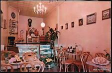 NYC NY Viennese Tidbits Restaurant Bakery Vtg Postcard