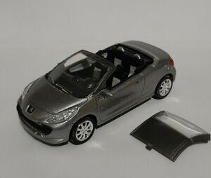 NOREV 3 inches 1/60. Peugeot 207 Cc Roland Garros. Neu IN Schachtel