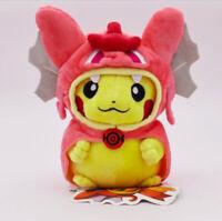 Pikachu Cosplay Mega Stuffed Animal Pikachu Cosplay Cartoon Animal Plush 20cm