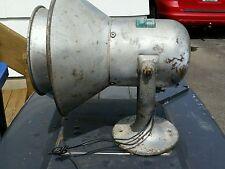 Vintage Faraday 12 volt  Horn Siren Alarm Industrial Steam Punk