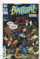 Batgirl #2 NM ANNUAL DC Comics CBX100