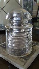 Vintage clear Glass Pyrex Insulator