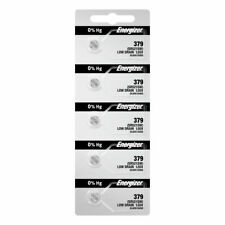 Energizer 379 Button Cell Watch Batteries 5 pack