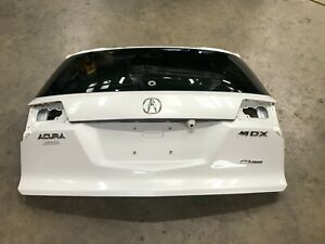 07-09 ACURA MDX REAR TAILGATE LIFTGATE HATCH TRUNK DECK LID WHITE OEM LOT3143
