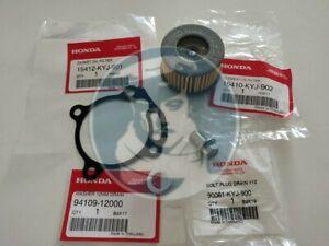 Genuine Honda CBR250R CB300F CBR300R CRF250L Oil Filter, Oil Gasket, Drain Plug