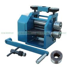 New 130mm Wide Sheet Rolling Mill Milling Miller Roller Flat Square & Half Round