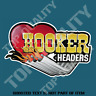 VINTAGE HOOKER HEADERS Decal Sticker Man Cave Garage Dragster Hot Rod Stickers