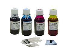 4x100ML refill ink for Canon PG-243 CL-244  MG3020 TS202 TS302 TS3120 TS3122