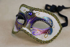 Collectable Venetian Italian Made Masquerade Mask Decorative Wall Art Carnevale