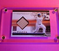 MIKE PIAZZA 2002 Topps Reserve Game-Used Bat # TRB-MP New York Mets HOF Relic